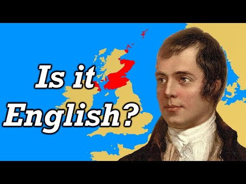Scots - English or Another Language?