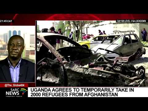 Uganda agrees to temporarily take in refugees from Afghanistan