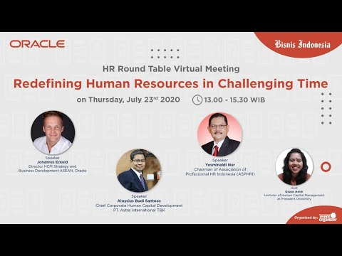 HR Round Table Virtual Meeting: Redefining Human Resources in Challenging Time