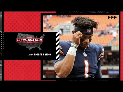 Justin Fields needs to sit, learn and not have to take so many hits - Louis Riddick | SportsNation