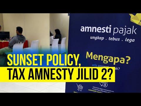 Sunset Policy Rasa Tax Amnesty, Menanti Konsistensi Pemerintah