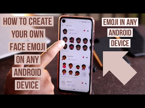 How to Create your own Face Emoji on Any  Android  Device