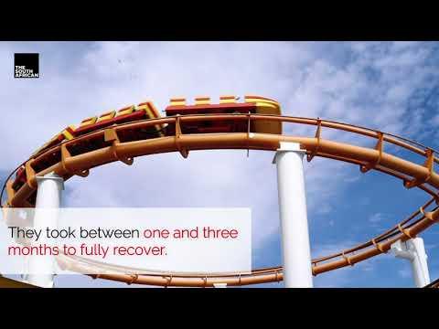 Do-Dodonpa rollercoaster in the Fuji-Q Highland SHUT DOWN