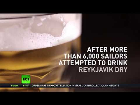 Drinking forces? Iceland goes dry after NATO troops guzzled all its beer