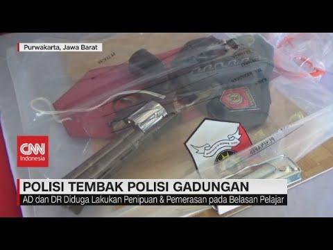 Polisi Tembak Polisi Gadungan
