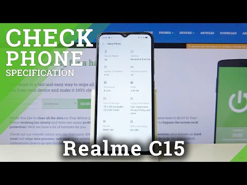 How to Find Phone Specification in REALME C15 – Device Info