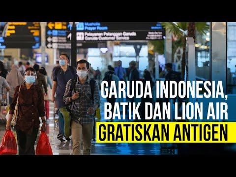 Gratiskan Antigen, Jadi Cara Garuda Indonesia, Batik dan Lion Air Curi Perhatian Konsumen