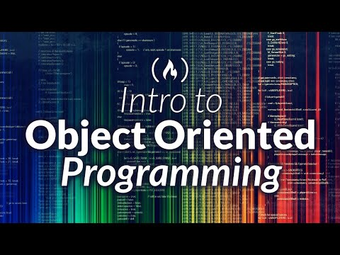 Intro to Object Oriented Programming - Crash Course