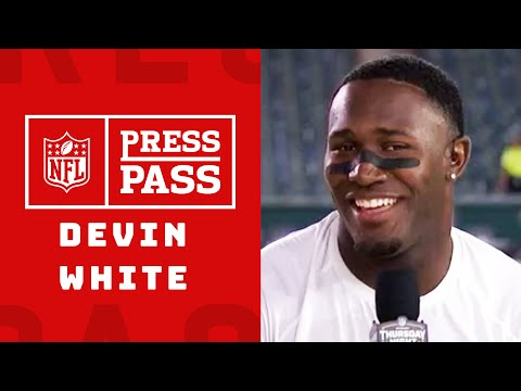 Devin White on Leaving Philadelphia with a Win  | NFL Press Pass