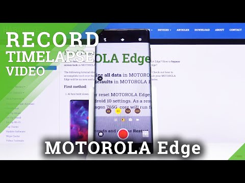 How to Record Timelapse in Motorola Edge – Record Videos in Timelapse