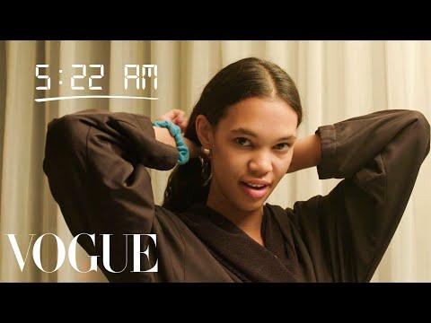 How Top Model Jordan Daniels Gets Runway Ready   Diary of a Model   Vogue
