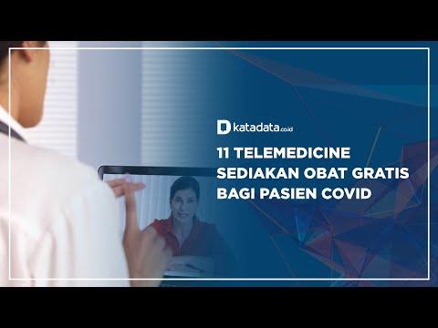 11 Telemedicine Sediakan Obat Gratis Bagi Pasien Covid | Katadata Indonesia