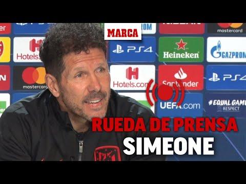 Atlético de Madrid - Liverpool: rueda de prensa de Simeone I MARCA
