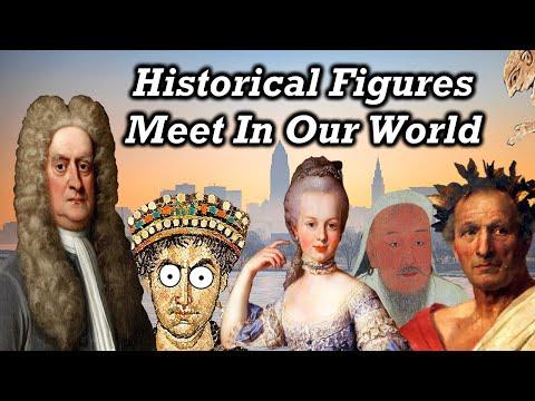 When Historical Figures Meet Each Other
