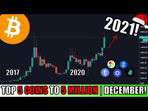 How I Would Invest $1000 in Cryptocurrency in DECEMBER 2020! Top 5 Altcoins For HUGE GAIN POTENTIAL!