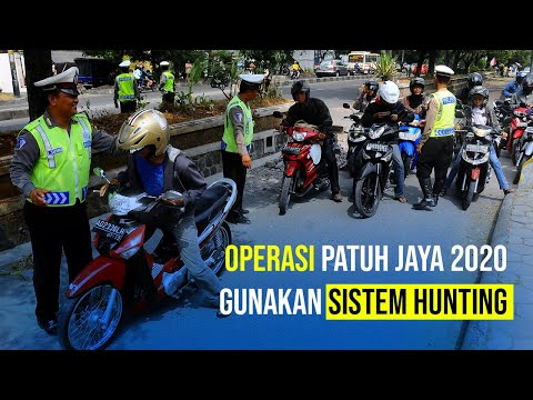 Operasi Patuh Jaya 2020 Gunakan Sistem Hunting