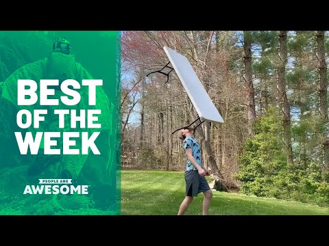 Extreme Table Balancing & More | Best Of The Week