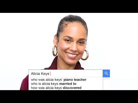 Alicia Keys Answers the Web's Most Searched Questions | WIRED
