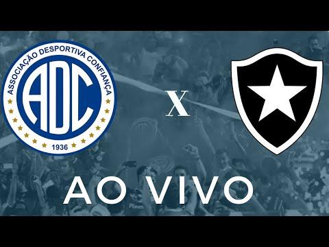 Confiança X Botafogo | Ao vivo | Série B