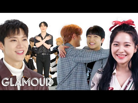 SuperM, NCT 127, Red Velvet, and More K-Pop Stars Take a Friendship Test | Glamour