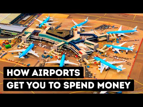 20 Ways Airports Get You to Spend More Money