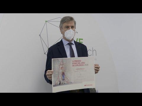 VIVEbiotech, premio Pyme del Año en Gipuzkoa