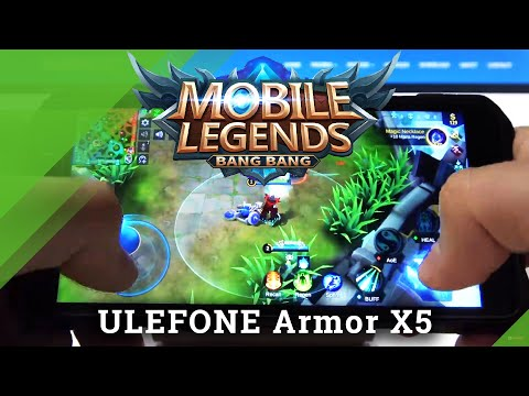 Gaming Quality Test on Ulefone Armor x5 - Mobile Legends Gameplay