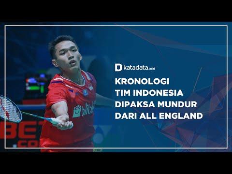 Kronologi Tim Indonesia Dipaksa Mundur dari All England | Katadata Indonesia