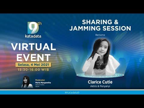#Katadata9 Sharing and Jamming Session Bersama Clarice Cutie