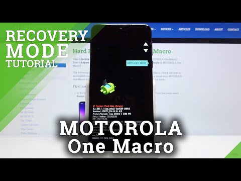 How to Open Recovery Mode in MOTOROLA One Macro – Enter Recovery Mode