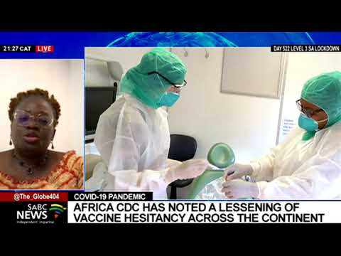 Latest on COVID-19 pandemic in Africa: Dr. Edinam Agbenu
