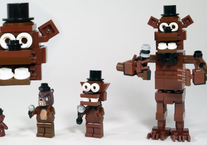 Five Nights At Freddys 2 Lego Instructions