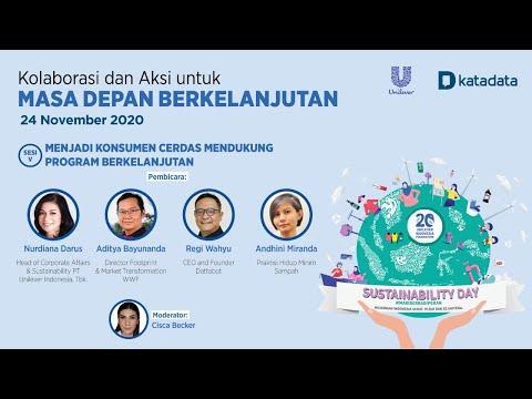 Sesi 5 Unilever Katadata: Sustainability Day 2020