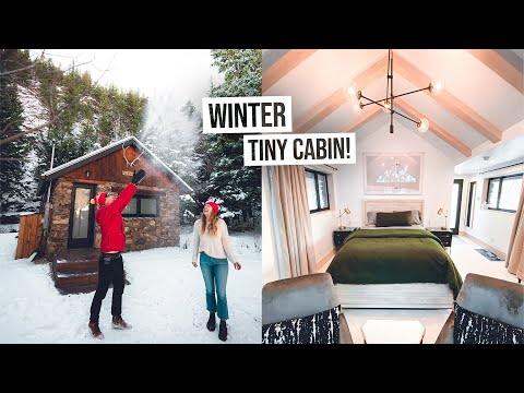 Tour of Our INCREDIBLE Minimalist Tiny Cabin in Colorado! + Beautiful Mountain Hike 😍