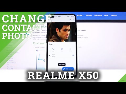 How to Add Photo to Contacts in REALME X5 5G – Personalize Contacts