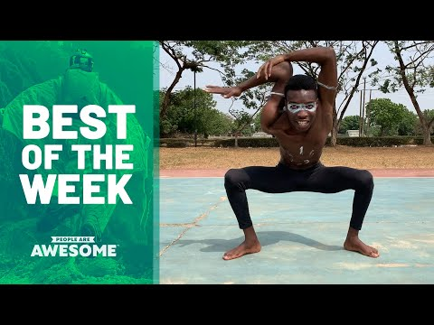 Contortion, Basketball Trickshots & More | Best Of The Week