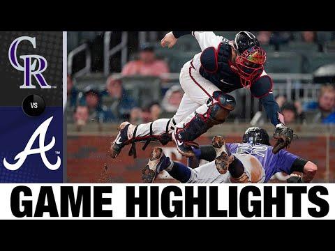 Rockies vs. Braves Game Highlights (9/15/21) | MLB Highlights