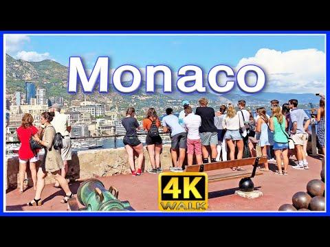 【4K】WALK MONACO c'est CHIC - 4K video TRAVEL channel SLOW TV
