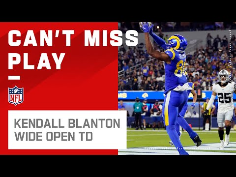 Kendall Blanton WIDE Open for a TD   Preseason Week 2 2021 NFL Game Highlights
