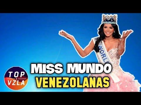 ¿Que Pasó con las Seis Miss Mundo VENEZOLANAS?