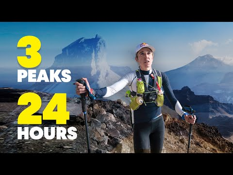 "Climbing 3 Volcanoes In 24 Hours in Mexico | w/ Alex Roudayna ""Chikorita"""