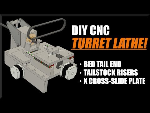 DIY CNC Turret Lathe - Part 2! WW206
