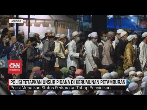 Polisi Tetapkan Unsur Pidana di Kerumunan Petamburan