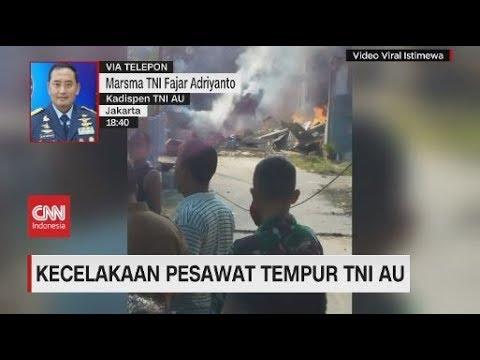 Kecelakaan Pesawat Tempur TNI AU
