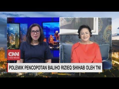 Polemik Pencopotan Baliho Rizieq Shihab oleh TNI di Mata Pengamat Militer