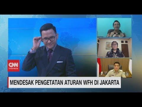 PPKM Darurat, Wagub DKI: Masih Ada Perusahaan yang Sembunyi-sembunyi Tak WFH 100%