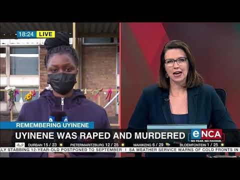 Remembering Uyinene   Uyinene was raped and murdered