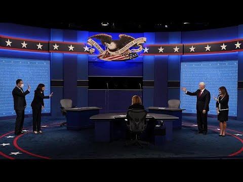 Debate respetuoso y con contenido político entre Mike Pence y Kamala Harris