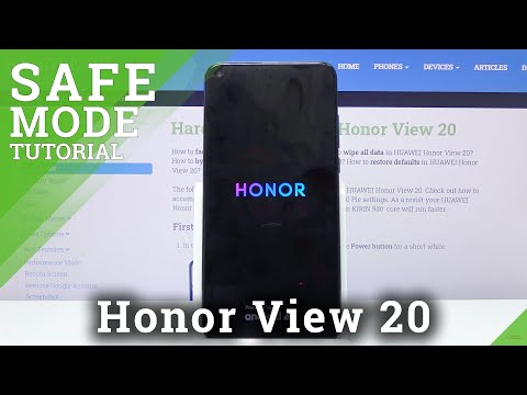 How to Activate Safe Mode on Honor View 20 - Stop Third-party Apps