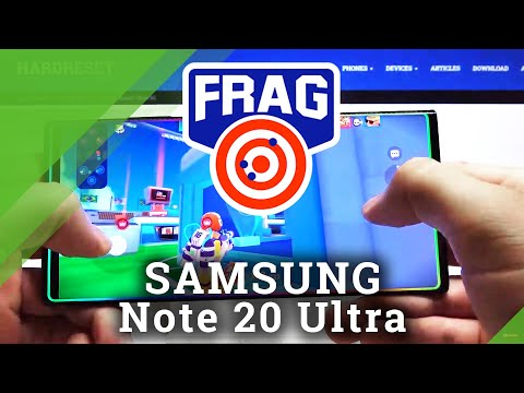FRAG Pro Shooter on SAMSUNG Galaxy Note 20 Ultra – Test Game
